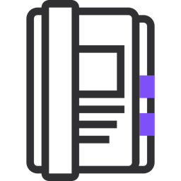 Write Phone Book Telephone Directory Note Phone Notebook Icon