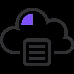 Server Network Database Archive Cloud Storage File Storage Icon