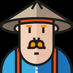 People User Profile Avatar Social Samurai Icon