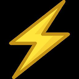 Lightning Weather Electricity Flash Bolt Ui Electrical Technology Thunder Icon
