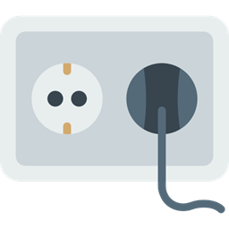 Connection Socket Plug Plugin Electrical Technology Electronics Tools And Utensils Construction And Tools Icon