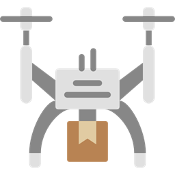 Camera Transportation Transport Fly Remote Control Drone Icon