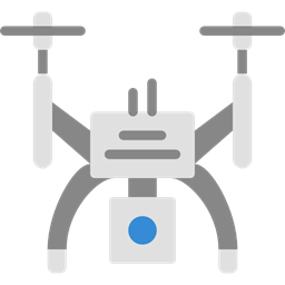 Camera Transportation Transport Fly Remote Control Drone Icon