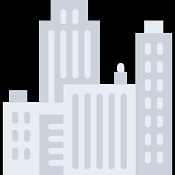 Architecture Urban Skyscrapers Cityscape City Town Buildings Architecture And City Icon