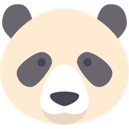 Bear Panda Animal Kingdom Panda Bear Zoo Animals Mammal Wildlife Icon