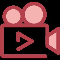 Cinema Film Movie Ui Technology Video Camera Icon