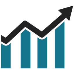 Business Growth Graph Bar Chart Business Graph Icon