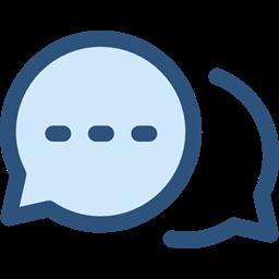 Communication Speech Bubble Conversation Seo And Web Multimedia Chat Icon