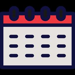 Schedule Interface Day Daily Calendar Wall Calendar Calendars Icon