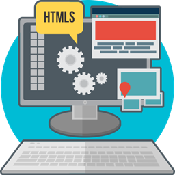 Computer Code Process Creative Technology Web Development Html Icon