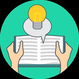 Energy Book Idea Knowledge Icon