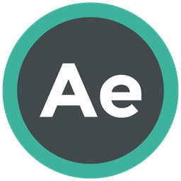 Extension Adobe After Effects Format Icon Icon