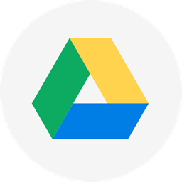 Cloud Circle Google Google Drive Cloud Storage Round Icon Drive Icon