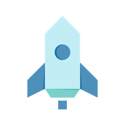 Campaign Launch Rocket Speed Icon