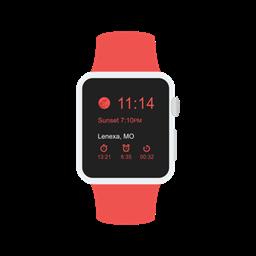 Apple Watch Device Gadget Smartwatch Icon