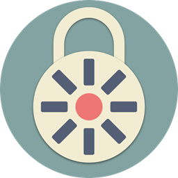 Password Lock Protection Insurance Secure Security Safety Icon