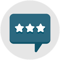 Stars Comment Chat Feedback Communication Interview Icon