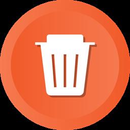 Empty Delete Remove Trash Recycle Recycling Dustbin Icon