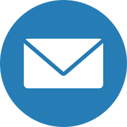 Letter, messages, cercle, Email, envelope, mail icon