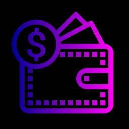 Currency Pocket Finance Money Dollar Icon