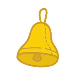 School Bell Student Object Study Icon