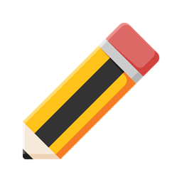 Pencil Learn Education Student Study Icon