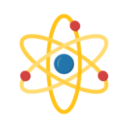 School Learn Atom Education Student Study Icon