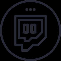 Media Network Logo Social Twitch Social Icon Icon