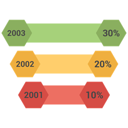 Arrow Bar Graph Growth Icon