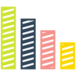 Growth Arrow Bar Graph Icon