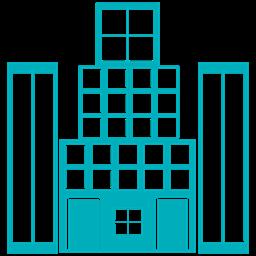 Tower Skyscraper Building Hotel Icon