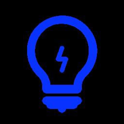 Idea Hint Creative Lamp Light Tip Bulb Icon
