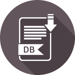 Folder Document Paper Db Extension Icon