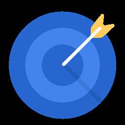 Aim Business Work Target Goal Icon