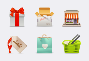 eCommerce icon packages