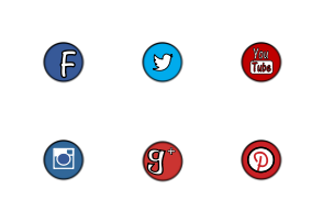 Popular Social Media icon packages