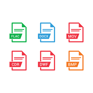 File Extension Names Vol 5 icon packages