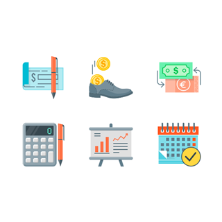 Finance and Banking (Free) icon packages