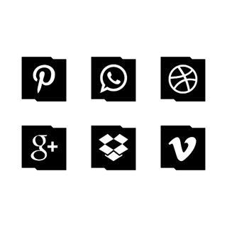 Free Social Media Edgy icon packages
