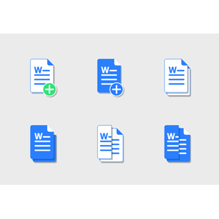 MS Word Docs icon packages