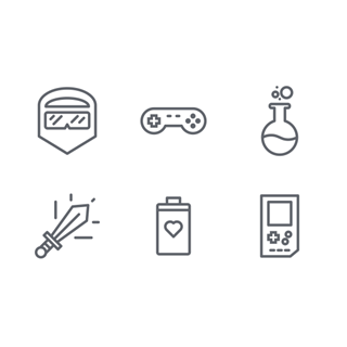Game play icon packages