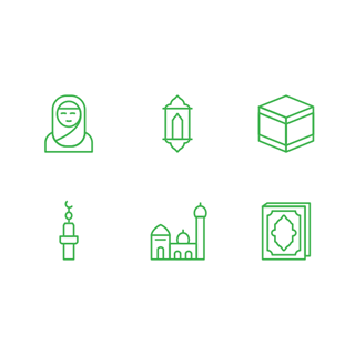 Ramadan Islamic 1 icon packages
