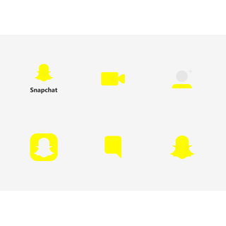 Snapchat UI - Flat icon packages