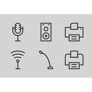 Computer Hardware Line vol 2 icon packages