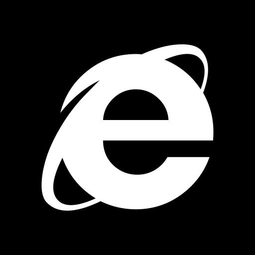 microsoft, Explorer, internet icon