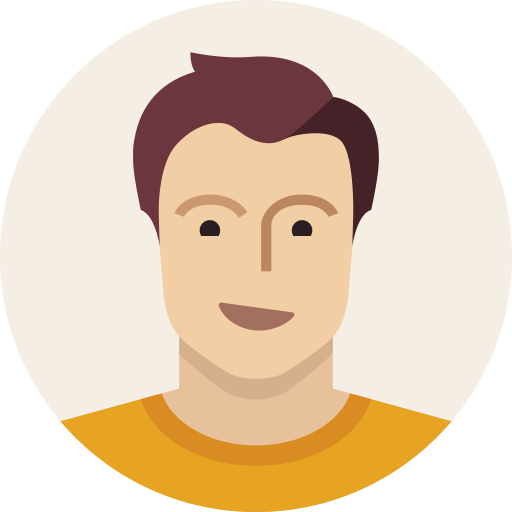 Young Man User Avatar Male Person Icon
