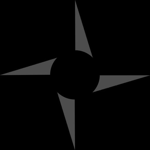 Ninja, star, samurai, Shuriken icon