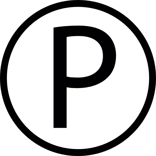 Letter P Letter Letters Logo Button Icon