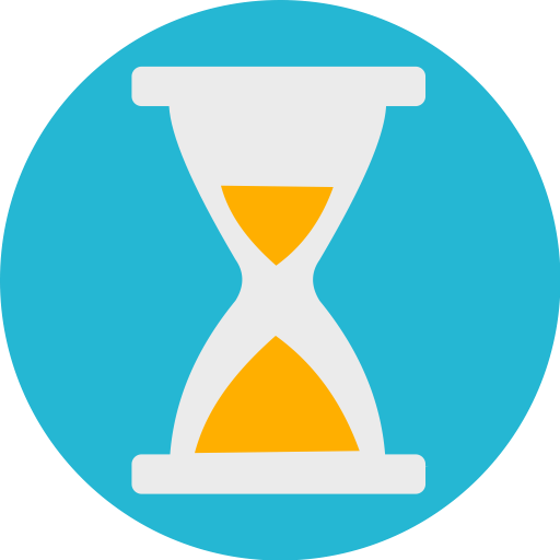 clock challenge time sand icon