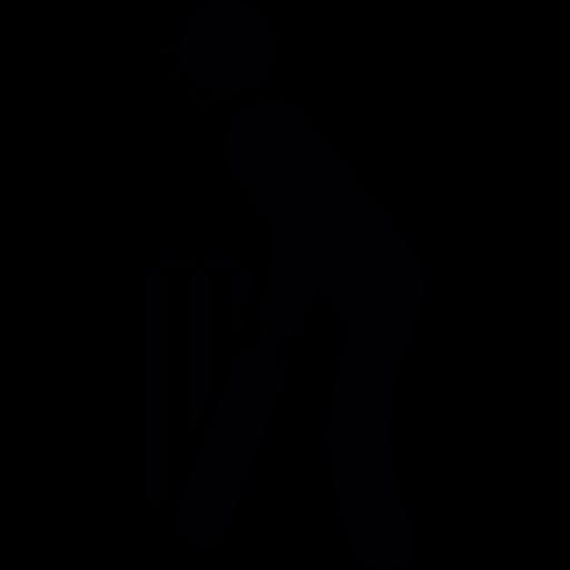 Black Computer Icon Png player, bat, match, Ba...